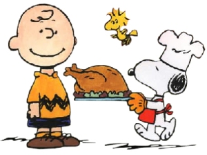 Charlie Brown and Snoopy Thanksgiving